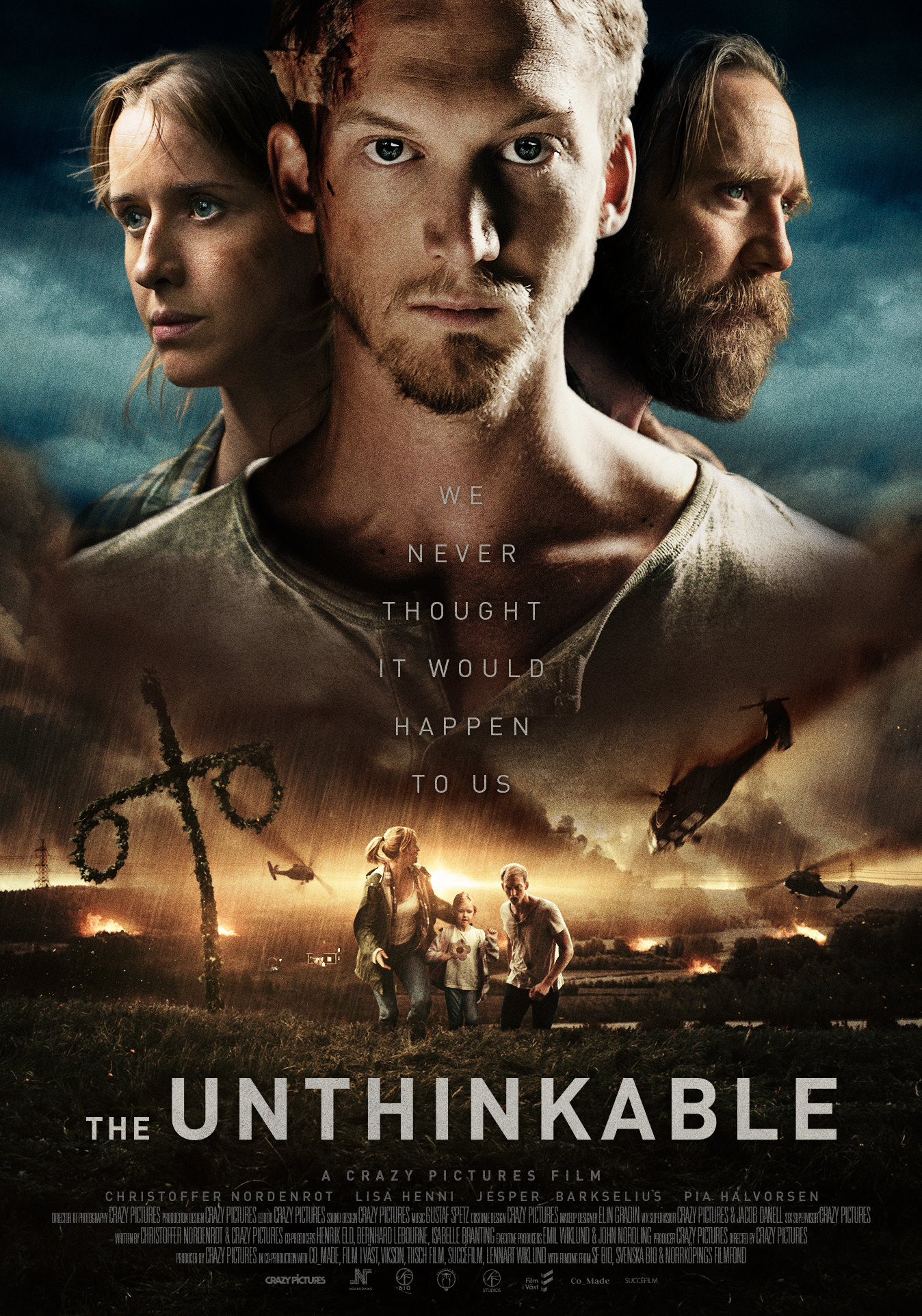 affiche THE UNTHINKABLE